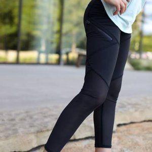 BLACK Ivivva lululemon pant leggings size 12